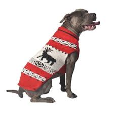 Chilly Dog Sweaters Red Reindeer