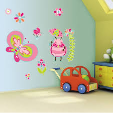 wall-painting-kids-room-design-cute-butterfly-wall-stickers-for ...