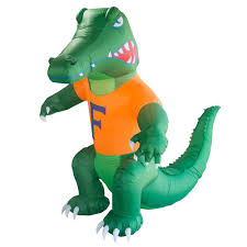 Lighted Alligator Lawn Ornament The Boelter Companies 7 Ft Florida Gators Inflatable Mascot