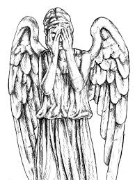 Doctor Who Weeping Angels Sketches Sketch
