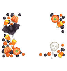 halloween candy clipart border. Beautiful Clipart And Halloween Candy Clipart Border R