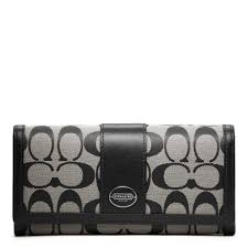 ... handbags f9638 02045 ebay lyst coach legacy signature slim envelope in  gray a5221 7ece3 ...
