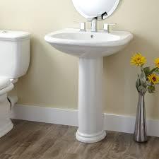 Traditional Bathroom Sinks Kennard Porcelain Pedestal Sink Bathroom