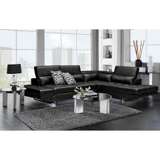 value city sectional sofa. Lexington Leather Sectional In Black | Couches ModGSI Value City Sofa C
