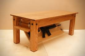 Hidden Gun Coat Rack Beauteous Hiding In Plain Sight Furniture To Hide Your Guns AllOutdoor