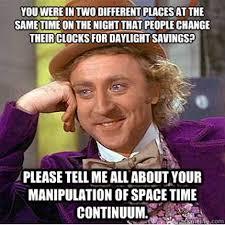 Daylight Savings Time - Sunday March 13, 2016 at 2:00 AM