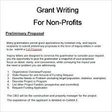 Images Of Writing A Grant Proposal Template Sample Non Profit ...