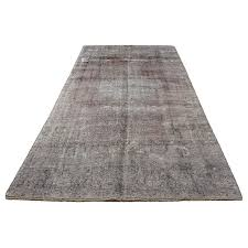 6 x12 overdyed vintage persian area rug antique persian rug grey carpet