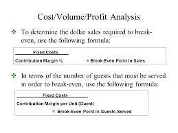 Chapter 10 Planning For Profit Ppt Video Online Download