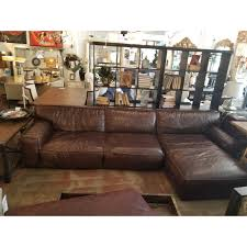 oversized leather sectional sofa. Contemporary Oversized Beautiful 100 Leather Large Sectional It Comes Apart Into Two Pieces For  Easier Transport Intended Oversized Leather Sectional Sofa O