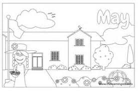 Small Picture May Day Coloring Pages Coloring Home may coloring pages isrs2011