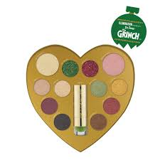 the grinch good enough to steal face palette color changing lip balm set