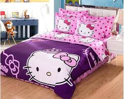 Full Size Comforter Hello Kitty Bedroom Set You Can Add Hello In Respect Of  Fancy Home Architecture
