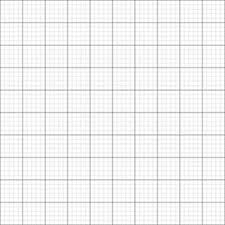 10 X 140gsm Grid Graph Paper A2 Size Metric 1mm 5mm 50mm Squares