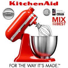 kitchenaid mini stand mixer 3 3 l hot sauce