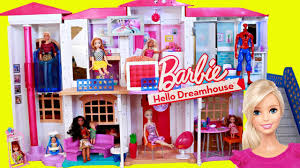 New Barbie Dollhouse Hello Dreamhouse is a Smart Home & Voice Activated -  YouTube