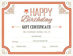 Free Printable Gift Certificates Template 15 Free Printable Gift Certificate Template Sample Paystub