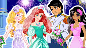 Small Picture Mermaid Ariel Princess Eric Wedding Cute Baby Games YouTube