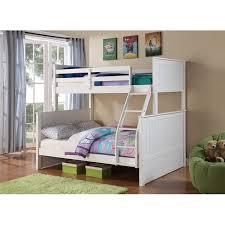 Harriet Bee Ciera Twin over Full Loft Bunk Bed & Reviews
