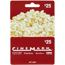 cinemark 25 gift card