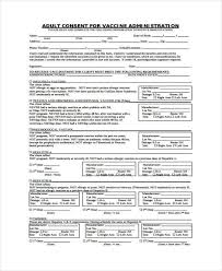 Consent Form Enchanting 44 Sample Vaccine Consent Forms Free Documents In Word PDF