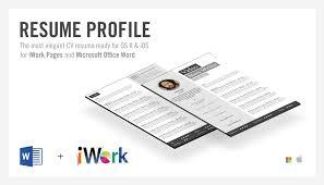 Resume Template Pages Resume Template Pages Mac Free Resume 47