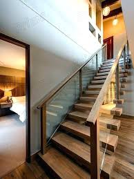 pipe handrail stair railing design step cover steel diy for stairs installing wooden handrails p