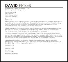 sales rep termination letter sales rep termination letter termination letters livecareer