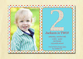 Birthday Invitation Quotes For 2 Year Old