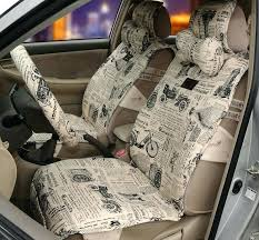 how to make car seat covers fashion cultural pattern universal auto car seat cover cushion beige