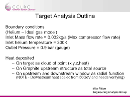 mass flow rate ideal gas. 9 mike fitton engineering analysis group target outline boundary conditions (helium \u2013 ideal gas model) inlet mass flow rate