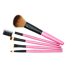 professional soft basic 5pcs makeup brush cosmetic blush eyeshadow liner brushes set kit tool beauty