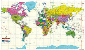 World Map Posters World Map Poster By Mapsofworld