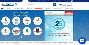 hdfc netbanking how to login