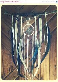 Small Dream Catchers For Sale Turquoise Brown and Red Two Feather Small Dream by ReinaJewelers 59