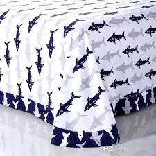 shark bed sheets children love shark bedding sets pure cotton reactive dyeing home textiles kids children