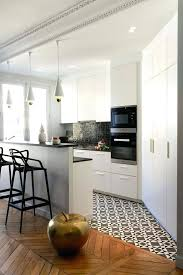 small kitchen floor tiles kitchen island to mark the boundary between the wooden and tile floors small kitchen floor tiles