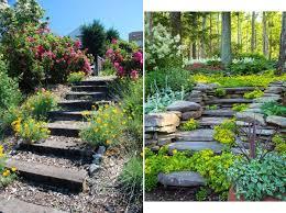Small Picture Landscaping Ideas Garden Stairs InteriorHoliccom Garden