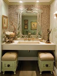 Art Nouveau Inspired Bath   HGTV