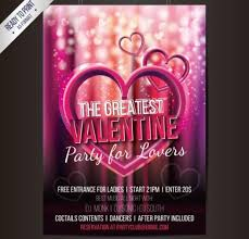 Valentines Flyers 25 Free And Creative Valentines Day Design Templates For