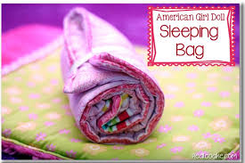 Free Printable American Girl Doll Clothes Patterns Delectable American Girl Doll Patterns To Make A Sleeping Bag For Your Doll