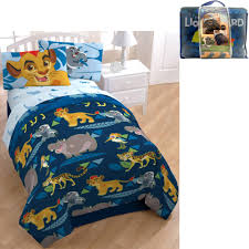 disney lion guard bed in a bag 5 piece twin bedding set with bonus tote com
