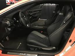 lexus 2015 rc interior. orangesolar flare 2015 lexus rc f 2dr cpe left front interior photo in rc