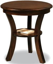 rustic round end tables wonderful off sierra round end table in rustic cherry solid wood throughout