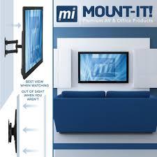 full motion corner tv wall mount