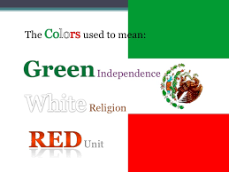 colors of the mexican flag. Interesting Colors In Colors Of The Mexican Flag