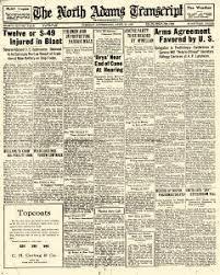 North Adams Transcript Archives, Apr 20, 1926, p. 1