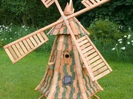 windmill garden ornament solar powered light up outdoor