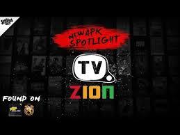 tvzion. apk spotlight tvzion play and go no bullsh t great to run beside terrarium tv its time