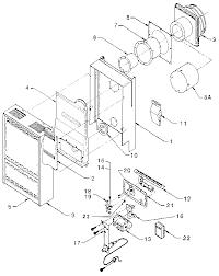 similiar williams wall furnace parts diagram keywords williams wall furnace cabinet and body assembly parts model 14dv